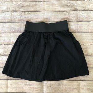 Majora Black Mini Skirt w/ Pockets